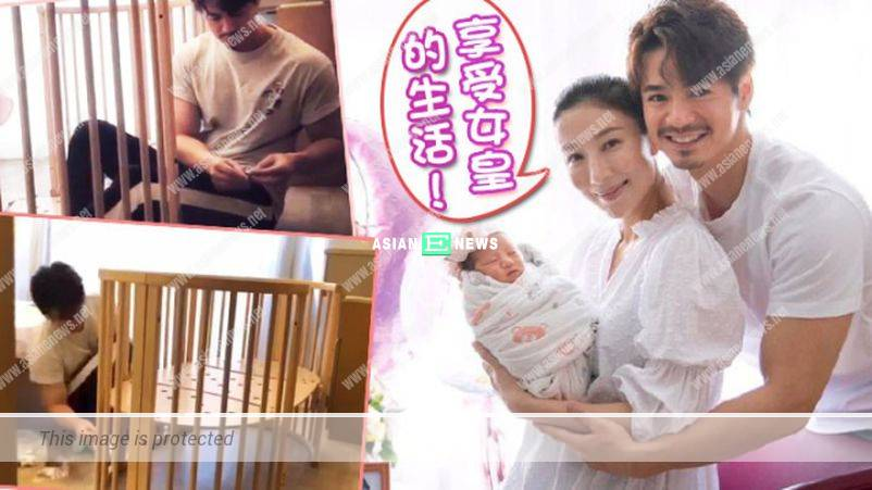 """Tavia Yeung is treated as a """"queen""""; Him Law builds baby cot personally"""