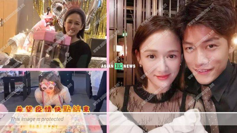 Joe Chen turned 41 year old; Her Malaysian boyfriend was absent at the birthday party