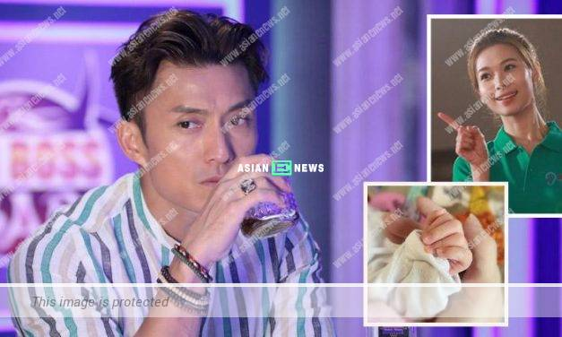 Joel Chan congratulates Vivien Yeo for becoming a mother
