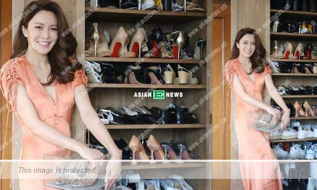 Kelly Cheung has more than 100 pairs of shoes