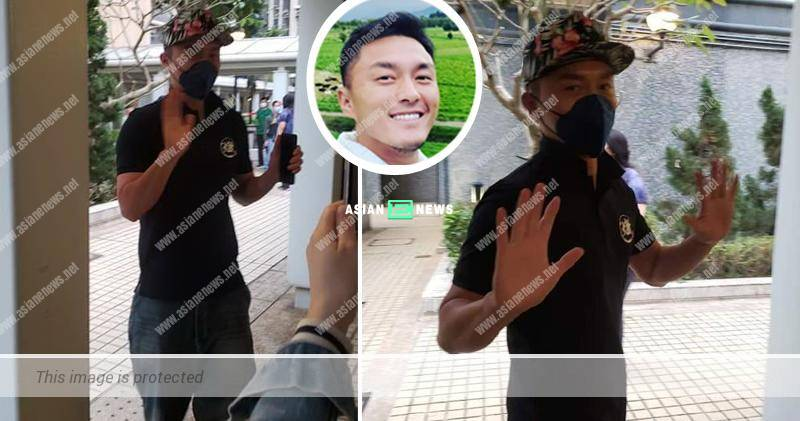 Friendly Matt Yeung delivered soup to police officers