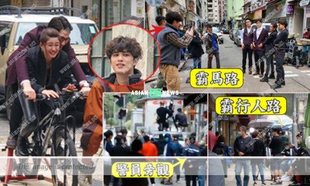 TVB causes social panic? Matthew Ho, Kong Ka Man and 30 staff were at the location shooting
