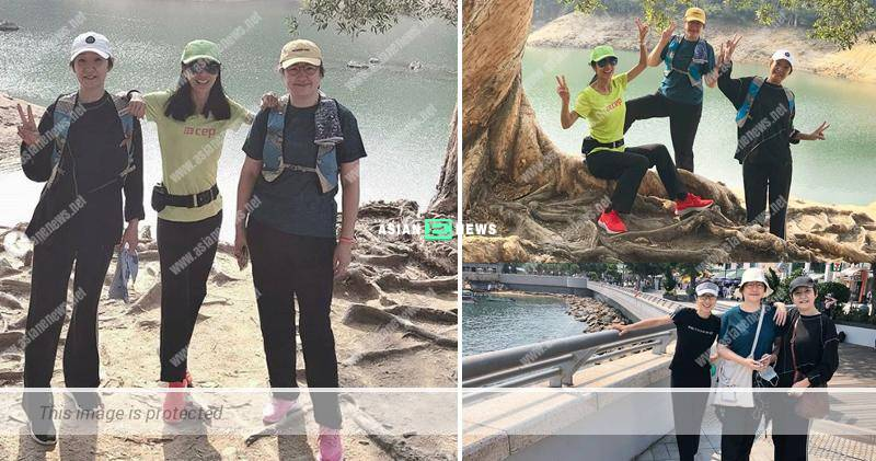 Michelle Yim goes for hiking with her sisters to maintain the bonding