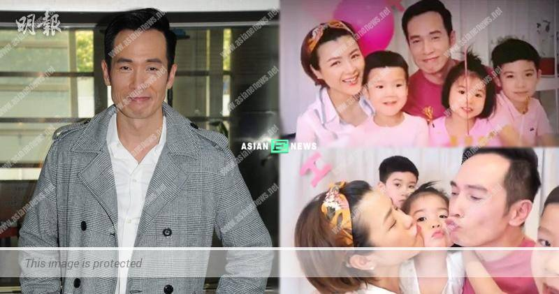Moses Chan feels elated to receive birthday cards from his children