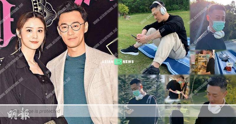 "Married man Raymond Lam continues to look ""Chok"""