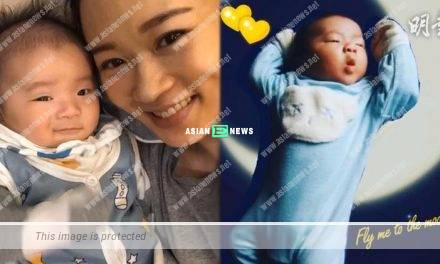 Shirley Yeung's son is 2 month old; His English name is Kody