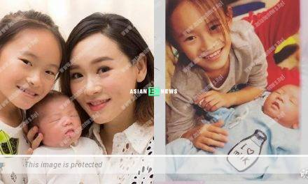 Protecting her husband's identity? Shirley Yeung's son is following her last name?