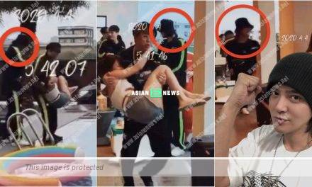 Break up with Grace Chow? Show Luo had a swimming pool party with 20 hot babes