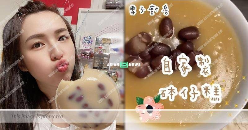 Snow Suen transforms into a chef and teaches everyone to make red bean pudding