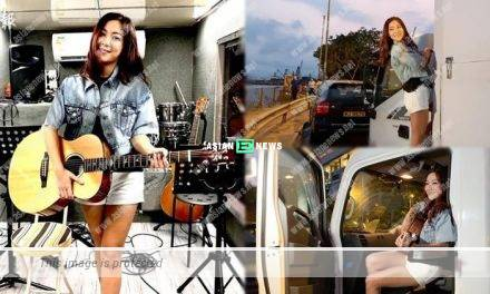 Stephanie Ho feels good to jam songs when facing the sea