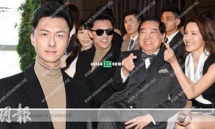 Vincent Wong works with Paul Chun's family: There is a sense of familiarity