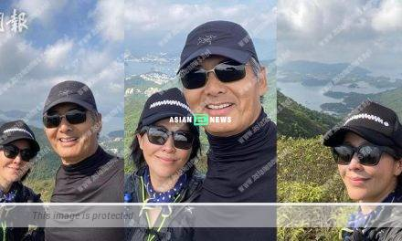 Carina Lau goes for hiking: Peace is always beautiful
