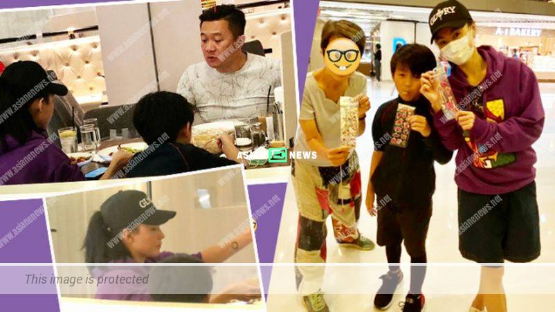 Cecilia Cheung's son Quintus wins compliments for being courteous and considerate
