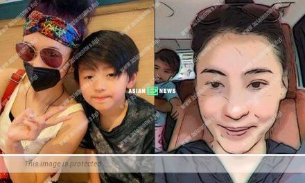 Cecilia Cheung's son Quintus is vain because of her?