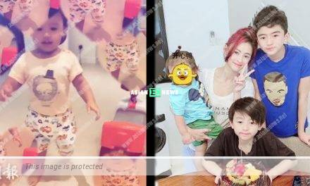 Cecilia Cheung reveals her third son Marcus's appearance accidentally
