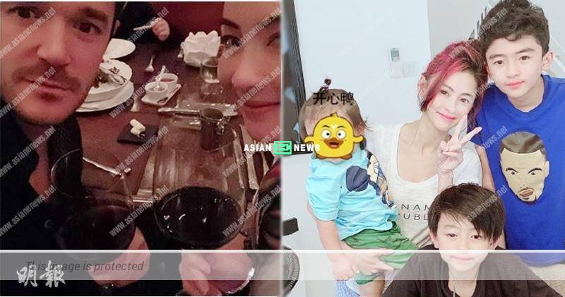 Cecilia Cheung's third son has blonde hair; Netizens suspect his father is a foreign man