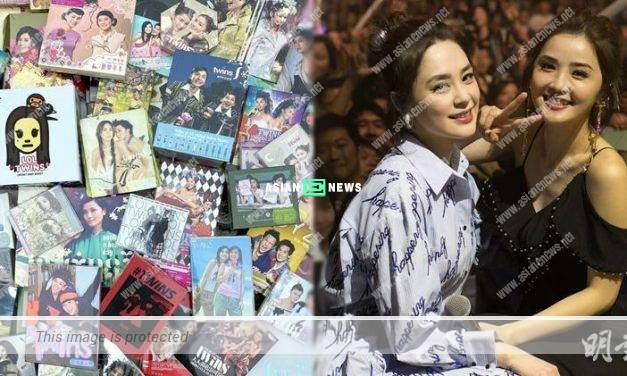 "19th anniversary year for Twins: Charlene Choi shows her collection and Gillian Chung continues to ""hide"""