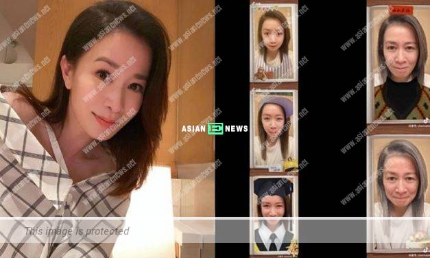 """Charmaine Sheh shows her entire life by playing """"time machine"""" application"""