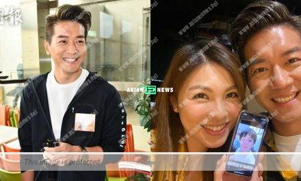 Chris Lai wishes for a daughter and gives to his wife
