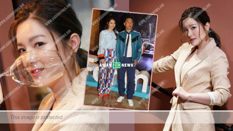Christine Kuo feels uncomfortable when her husband visits her at the set