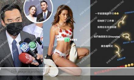 Is Michael Lai having an affair with hot model Angelina? She warned: Mind your own words