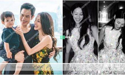 Expecting Grace Chan thanks everyone for the blessings