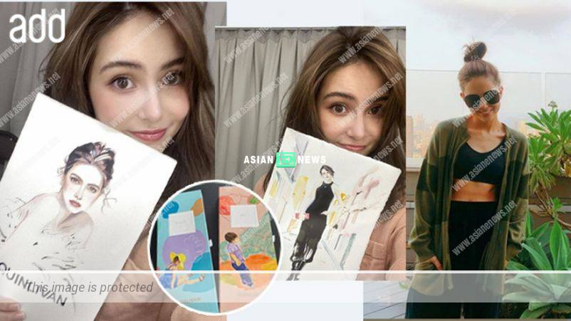 Jay Chou's wife, Hannah Quinlivan releases her own contact lenses brand