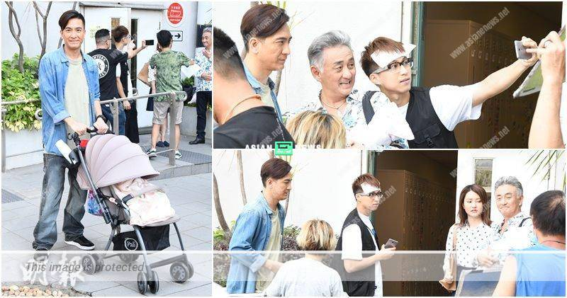 Kenneth Ma's patience is tested when working with child actor