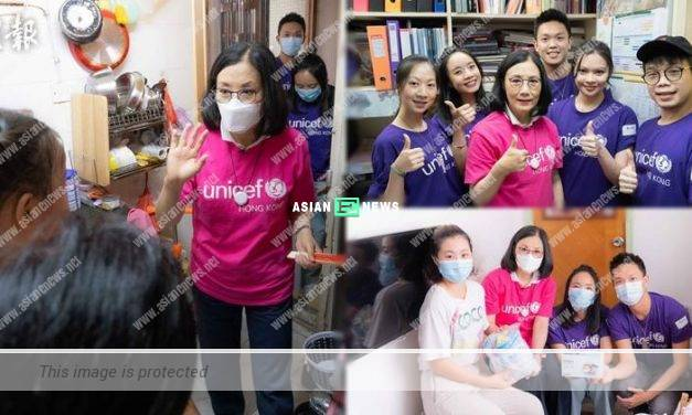 Liza Wang continues to distribute face masks and essentials to needy people
