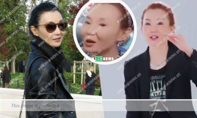 Angle problem? 55-year-old Maggie Cheung is criticised for her haggard looks