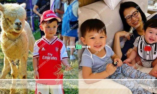 Myolie Wu's son Brendan won compliments from Christine Kuo