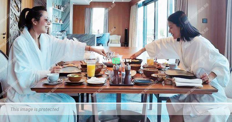 Priscilla Wong meets Natalie Tong in the hotel behind Edwin Siu's back