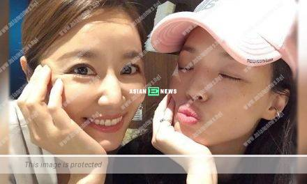 Ruby Lin feels touched when Shu Qi visits her at the drama set