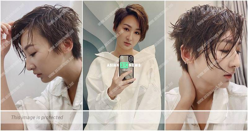 Samantha Ko shows her new hairstyle: My dad has another son