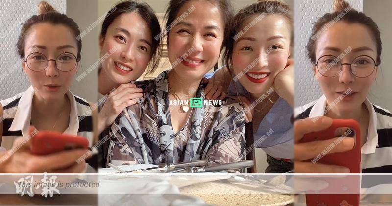 Sammi Cheng maintains close contact with Stephanie Che