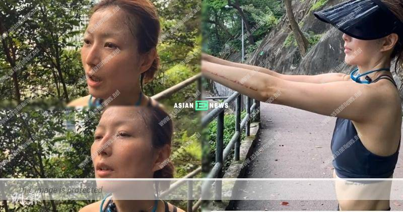 Hardworking Sammi Cheng wakes up early for running