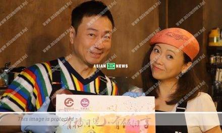 Bravo to Wayne Lai and Sheren Tang doing charity work together