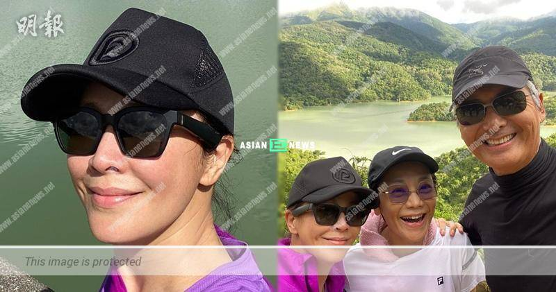 Carina Lau and Chow Yun Fat go for hiking together: A beautiful start