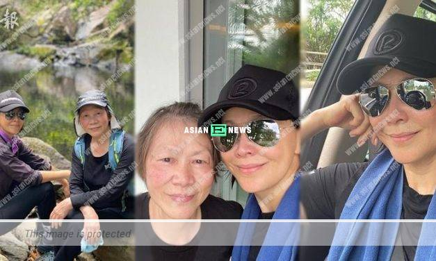 Carina Lau and her mother go for hiking together: Age is a mindset only