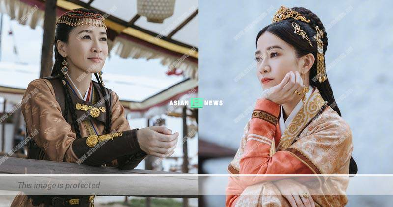Charmaine Sheh plays the prime minister's daughter in Chinese drama