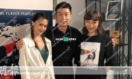Chrissie Chau and Annie Liu treat Steven Ma as an elder brother