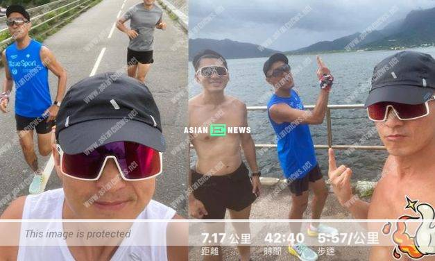 Joel Chan and Benjamin Yuen go for running together