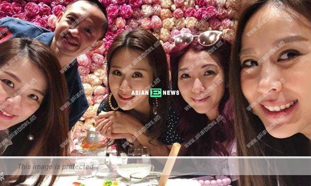 Kayi Cheung and her friends exchange late Christmas gifts due to virus