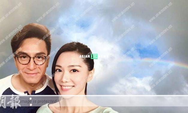 Roxanne Tong replies sweetly when Kenneth Ma shows photo of a rainbow