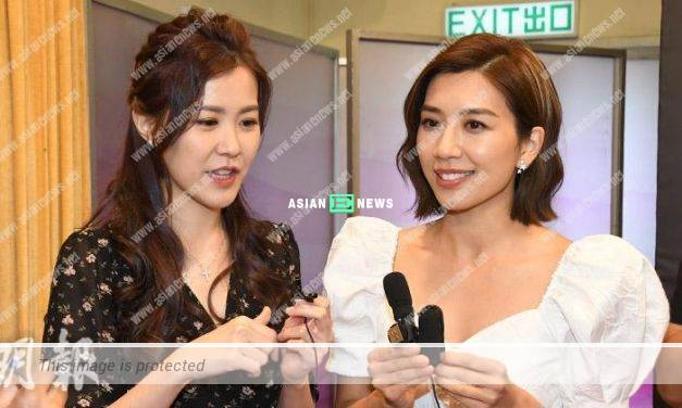 Moon Lau and Mandy Wong become good friends after working together