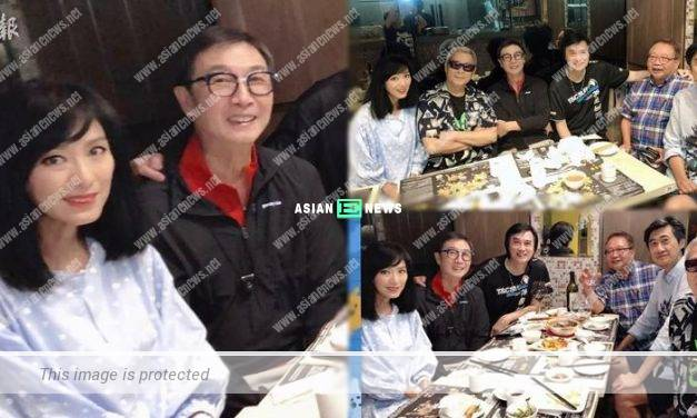 Michelle Yim and Damian Lau have a gathering again