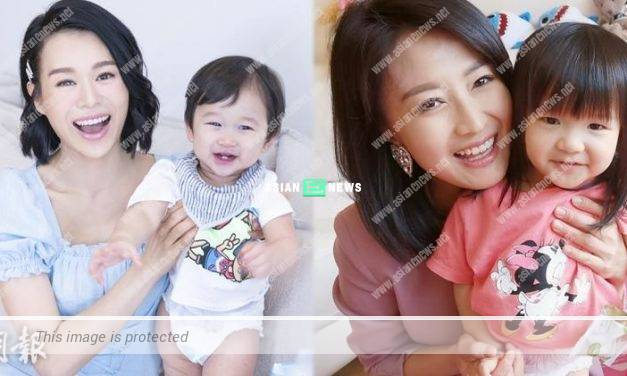 Myolie Wu and her son shoot a video clip for promotion together