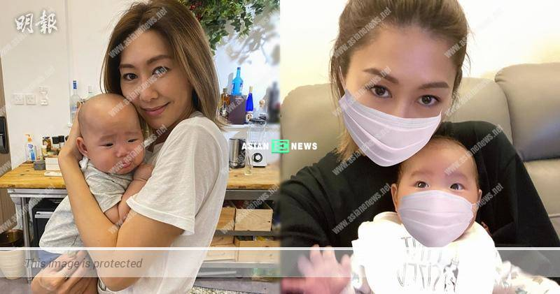 Nancy Wu's nephew is unhappy when she carries him?