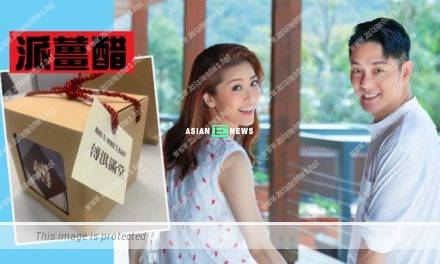 Niki Chow gives birth to a baby boy; She distributes pork knuckles and ginger stew