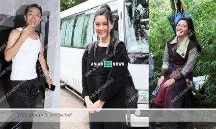 Roxanne Tong wears loose black outfit; Is she pregnant?